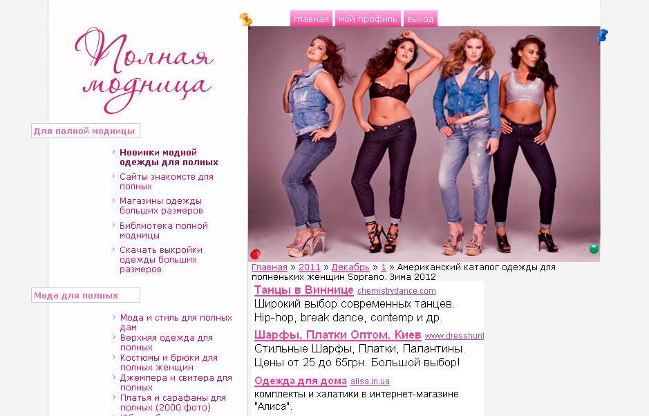 Мода Каталог Женской Одежды